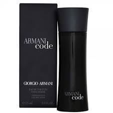 Armani Black Code Men EDT  Vapo 75ml