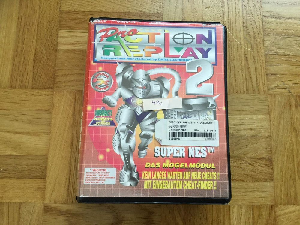 Action Replay 2 SNES
