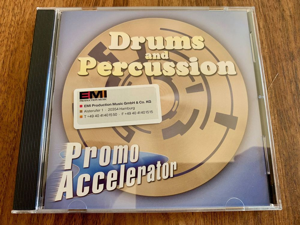 Drums and Percussion - Promo Accelerator