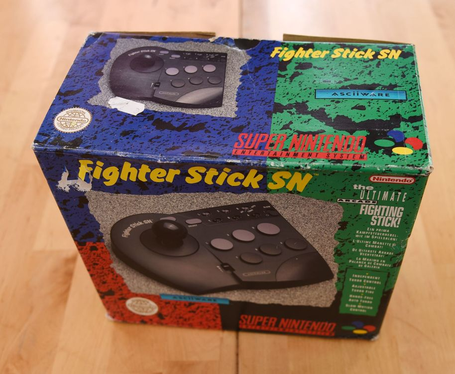 Fighter Stick SN (OVP) SNES