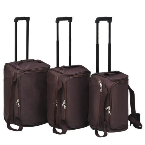 Ensemble de valises 3 pcs Couleur de caf